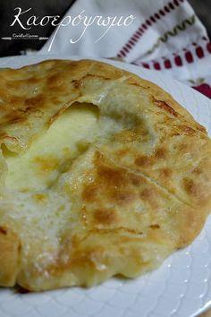 Χατσαπούρι, ένα ακαταμάχητο κασερόψωμο! Cookbook Recipes, Cooking Recipes, Greek Recipes, Cooking Time, Food To Make, Toast, Food And Drink, Pie, Bread