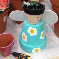 Flower pot angel!