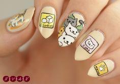 Neko Atsume Nails