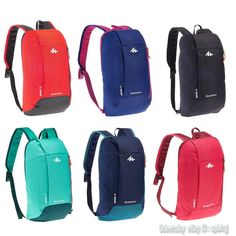 QUECHUA Hiking Mini Day Backpack Rucksack Arpenaz Travel 10L Small Camping   eBay