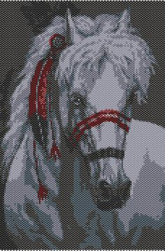 Cadoo  Beading Tapestry Pattern by PiratesOfTheBeads on Etsy, $6.00