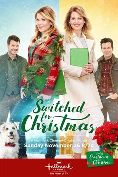 """Its a Wonderful Movie - Your Guide to Family and Christmas Movies on TV: Switched for Christmas - a Hallmark Channel Original """"Countdown to Christmas"""" Movie starring Candace Cameron Bure!"""