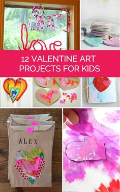 12 Happy Valentine Heart Art Projects for Kids.