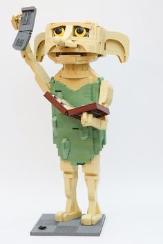 you give a House Elf an article of clothing. If you give a House Elf an article of clothing.If you give a House Elf an article of clothing. Legos, Big Lego, Free Dobby, Lego Boxes, Lego Sculptures, Amazing Lego Creations, Lego Pictures, Lego For Kids, Lego Worlds