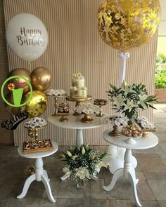Popular happy birthday images for him for him ideas 50th Birthday Party, Birthday Balloons, Birthday Party Decorations, Table Decorations, Elegant Party Decorations, Birthday Bunting, Super Party, Happy Birthday Images, Gold Party