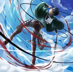 Tags: Anime, Shingeki no Kyojin, Rivaille, Pixiv Id 5116601
