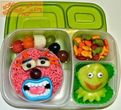 The Muppets Animal and Kermit: Happy Birthday Jim Henson in @EasyLunchboxes