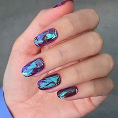 ❤️❤️ #glassnails #unistella #modi_unistella