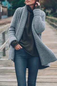 No pattern- just picture. Cute sweater