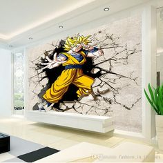 Dragon Ball Photo Wallpaper 3D Anime Wall Mural Custom Cartoon Wallpaper Boys Kids Bedroom Livingroom Large wall Art Room Decor Hallway