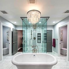 I Wanted To Create A Luxurious And Relaxing Retreat In This Master Bathroom With
