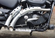 Chrome Magnum Exhaust Drag Pipe Set For Harley Davidson Sportster  2004-UP (NEW) #VTwinManufacturing