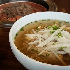 korean cold noodles(Nangmyeon) 평양냉면@우래옥
