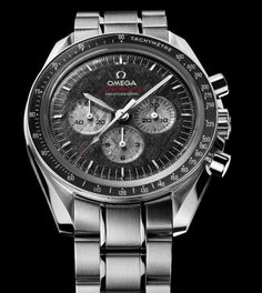 OMEGA Speedmaster Professional Apollo-Soyuz 35th anniversary - Crazy Watch!!!! has a meteorite face to go with it!
