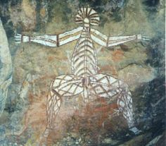 Aboriginal rock art - Kakadu, Australia