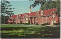 Belleville IL Residence Hall Retreat House Of Christ The King Postcard Illinois
