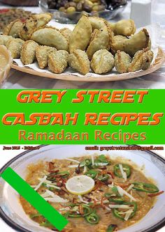 Grey Street Recipes edition 9 June 2015 - Ramadaan Edition Click on the picture to open and you can download it. Indian Food Recipes, Indian Foods, Ethnic Recipes, Curry Recipes, June, Street, Grey, Curries, Texts
