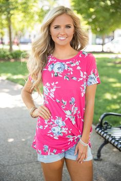 Never Been Sweeter Blouse Hot Pink