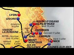 Tracé du Tour de France 2013 / 2013 Tour de France route - Published on Oct 24, 2012 by letourdefrance