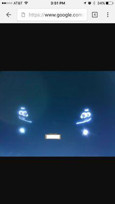 Halo headlights! Nissan Maxima 08