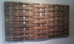 how to make a wine stave panel - Google Search