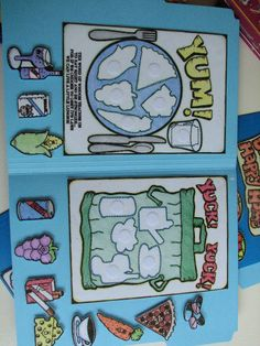 This is a great idea for a science center activity. It's also a file folder. 5380