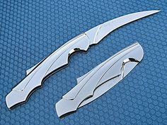 Ron Best Knives, Custom Created Folding Knives. Beautifully simple and sleek design.