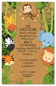 13 best kids party ideas images on pinterest birthday invitations wording invitation safari birthday partyjungle stopboris Image collections