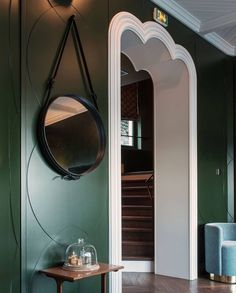 GUBI // Adnet Circulaire Mirror by Jaques Adnet