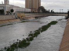 Río Guadalmedina a su paso por el CAC