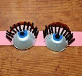 egg carton eyes-on-a-headband