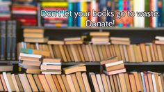 Where Should You Donate Your Old Books?