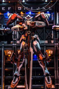 Custom Build: MG 1/100 00 Gundam Seven Sword/G Inspection Colors with Base Hangar - Gundam Kits Collection News and Reviews