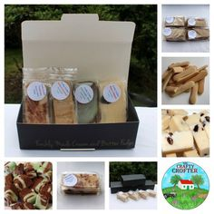 The Crafty Crofter Grown Ups Only - Luxury Fudge Gift box - for after dinner once the kids are in bed . A beautiful giftbox containing 4 bars of luxury. Mint Chocolate, Raisin, Fudge, Tiramisu, Rum, Caramel, Sunshine, Shapes, Crafty