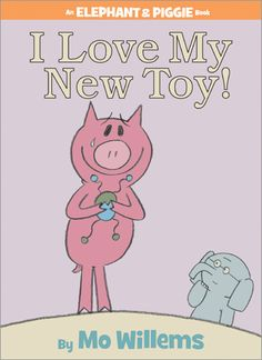 I Love My New Toy! tests Gerald and Piggie's friendship...will a broken toy break up this dynamic duo? Entertaining, thoughtful and instructive without being preachy.