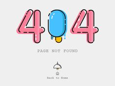404 by Uday Kumar #Design Popular #Dribbble #shots