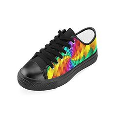 Artsadd Psychedelic Rainbow Spiral Custom Canvas Shoes For Women Model0182015 New Arrival >>> Be sure to check out this awesome product. (This is an affiliate link)