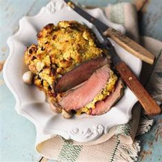 Roast beef fillet with a horseradish crust recipe. This is an extra special way of cooking beef fillet, ideal for a special occasion. Beef Fillet Recipes, Roast Fillet Of Beef, Roast Beef And Horseradish, Beef Tenderloin Recipes, Beef Recipes, Cooking Recipes, Fresh Horseradish, Horseradish Recipes, Cooking Beef