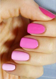Pink Gradient Mani Tutorial !   Samples Beauty