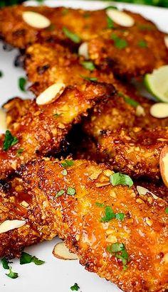 Thai Sticky Chicken Fingers