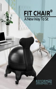 Balance ball chair, the best active sitting alternative to traditional chair. Cake Recipes, Dessert Recipes, Cooking Recipes, Sweets, Chair, Fitness, Dump Cake Recipes, Recipes For Cakes, Good Stocking Stuffers