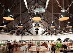 Mercat Restaurant in Amsterdam_Mercat, design practice Concrete