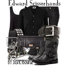 """Edward Scissorhands"" by lalakay on Polyvore"