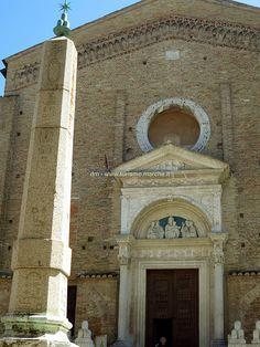 San Domenico Church and Obelisk - Urbino - Marche, Italy