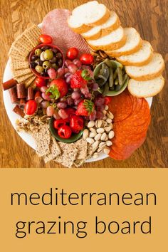 ad: This grazing board is perfect for easy entertaining - here are tips for making a sunny Mediterranean Picnic Plate that looks as delicious as it tastes. Follow @TspCurry for more yummy recipes! Side Recipes, Yummy Recipes, Yummy Food, Healthy Recipes, Charcuterie, Picnic Plates, Marinated Vegetables, Usda Food, Dinner Side Dishes