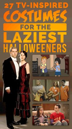 27 TV-Inspired Costumes For The Laziest Halloweeners