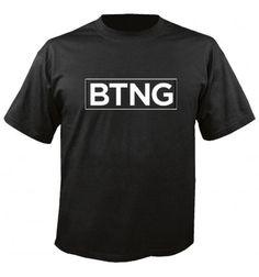 BTNG Logo Shirt Schwarz