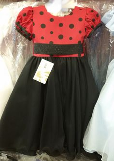 Vestido Temático Joaninha REF: MB71462