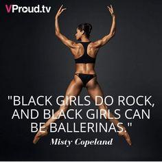 Black Dancers, Ballet Dancers, Shall We Dance, Just Dance, Black Girls Rock, Black Girl Magic, Black Ballerina, American Ballet Theatre, Misty Copeland