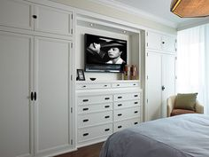 Guest Bedroom - beach style - bedroom - miami - by Cindy Ray Interiors, Inc.